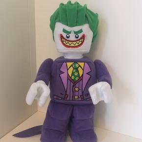 Jokeren Lego plysminifigur  Den er udgået nu, kan ikke købes mere. Købt i foråret.