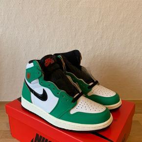 Sælger disse fede Nike Air Jordan 1 'Lucky Green'   10/10 DS Alt OG