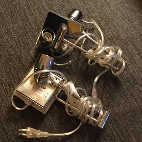 Væglamper sælges samlet pris er for begge har mobilpay