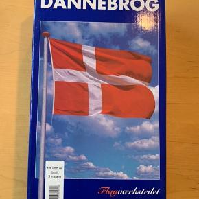 Dannebrog flag til 8 mtr stang. Ubrugt i original emballage. 170x225