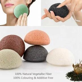 Natural Konjac Jelly Fiber, ansigt rense Vaske Sponge god til uren hud. Fast pris