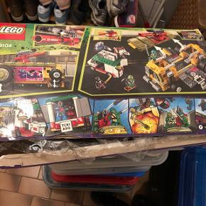 LEGO masse af blandet noget fortsat ikke åbnet ialt 6 kasser