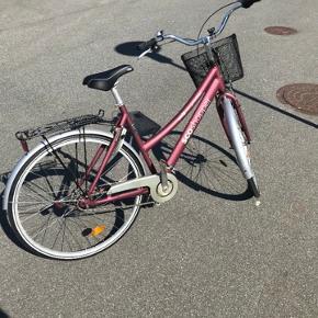 """28"""" sco City shopper. Virker fint. Med lille cykelcomputer påsat."""
