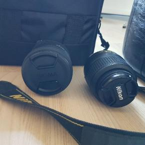 Jeg har dette kamera stående herhjemme, som aldrig bliver brugt.  Der medfølger 2 linser :) Byd.