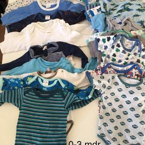 Drenge tøj 0-3 mdr