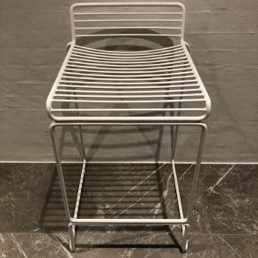 Hay Hee barstol 65 cm stol med læderhynde til Afhentes i Ryomgård eller Aarhus