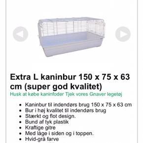 Kanin/ marsvine bur Brugt til marsvin, men da vi har købt nyt bur sælges dette 😊  Brugt i et par måneder og så har det stået i skuret siden.   Nypris ligger på omkring 1.000kr Sælges til 350kr  Befinder sig i 9300 Voerså og leveres desværre ikke.