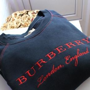 Brugt 3 gange tops - Købt i Room 4 - Ægte Vare   Burberry Embroidered Jersey Sweatshirt