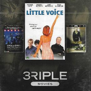 0076 - 3 Riple movies vol. 07 (DVD)  Dansk Tekst - I FOLIE   Little voice  Standing in  the shadows of motown  The Job