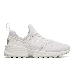 Fede hvide NB sneakers str 41,5 (27 cm) Som nye. Kan sendes eller afhentes i Alslev