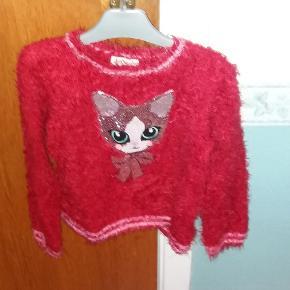 Pels trøje med kat