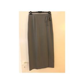 Ny lang grå nederdel str M fra Gerry Weber med snøre i siden:)     #30dayssellout
