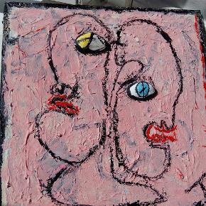 'Popeye' 40 x 40 cm T.By.Art.