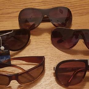 5 paires de lunettes de soleil neuves .quelques une avec étiquette . pas de rayes sur aucune paire de lunette. Valeur plus se 80 frs  en vente ici à 40 frs