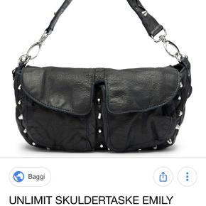 Sælger denne unlimet taske i modellen Emily, den er næsten ikke brugt. Nypris er 1300 kr, bon haves og medfølger da der er 2 års garanti