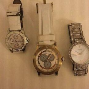 Sælger mine flotter ure alle 3 er ægte..... 1. Festina 200kr 2. Dyrberg Kern 200kr 3. DKNY 200kr BYD BYD BYD