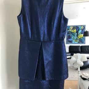 Kort kjole med glimmer