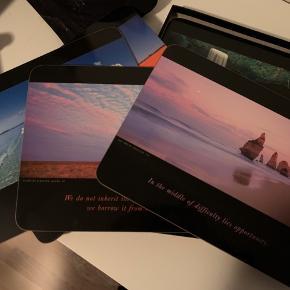Til at stille tallerkener på. Flotte motiver taget af fotograf Ken Duncan fra Australien 6 stk