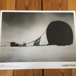 Plakat fra Moderna Museet. Måler 30x40 cm