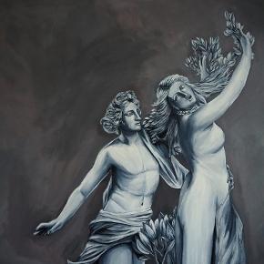 Orginalkunst Akrylmaling på lærred 100x120cm