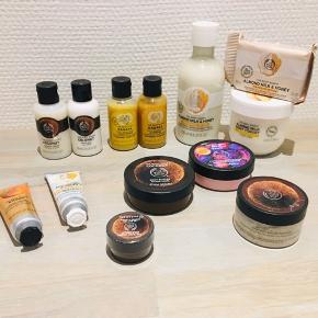 Forskellige produkter fra The Body Shop - sælges samlet for 300 kr :-)