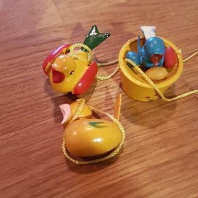 Små påskefugle retro