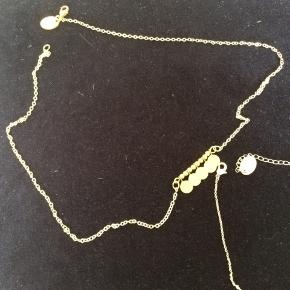 Ny halskæde. Har flere slags.   En 85, to 150, tre 215