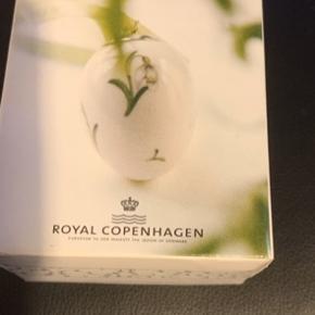Royal æg i original æske med rede og bånd -samler objekt -ubrugt og flot   2006 VINTERGÆK (1249 372) Sender + Porto