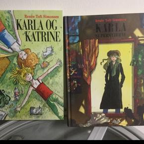 Karla bøger, som nye. 100,- pr. Stk.
