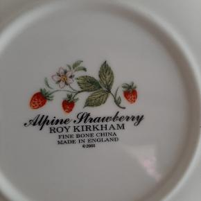 Roy Kirkham - Alpine Strawberry sukkerskål, dia. 18 cm.