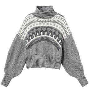 Pringle of Scotland X H&M sweater i grå og hvid   Størrelse: XL   Pris: 195 kr   Fragt: 45 kr ( 37 kr ved TS handel )
