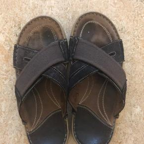 Sæler min mand  sandaler  brugt en gang  str 40