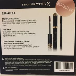 Uåbnet gaveæske fra Max Factor