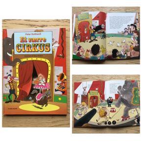Sælger disse 2 børnebøger skrevet af Peter Gotthardt illustreret af Niels Roland/Gunhild Rød. 2 gode historier med flotte illustrationer. Bøgerne er: Et værre cirkus og Max og Mille og de fikse reflekser. Sælges for 40kr pr stk eller samlet for 65kr. Er som nye. Kommer fra et ikke ryger hjem, afhentes i 2990 Nivå eller sendes mod betaling