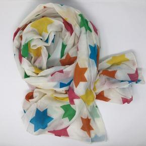 Stort aflangt tørklæde 100% bomuld 200 x 100 cm Kan sendes som brev for 20,-