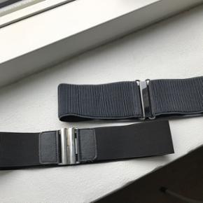 2 stk elastik bælter - passer en str XS/SSamlet 50,-