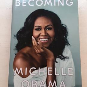 Michelle Obama Becoming bog på engelsk.