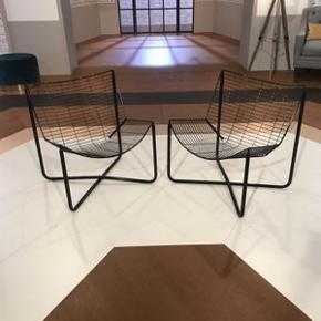 2 stk. unikke originale vintage Ikea Järpen stole. God stand. Sort metal. Højde 70, bredde 60, siddehøjde 35 cm. Afhentes på Christianshavn. BUD MODTAGES. Realistiske bud, ingen skambud. De er SÅ fede!