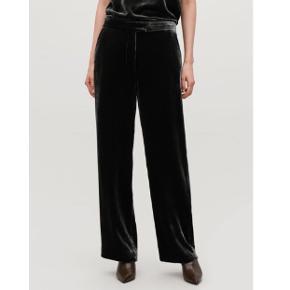 Helt nye velour bukser fra COS str 36, grå 🐦 normal pris 790