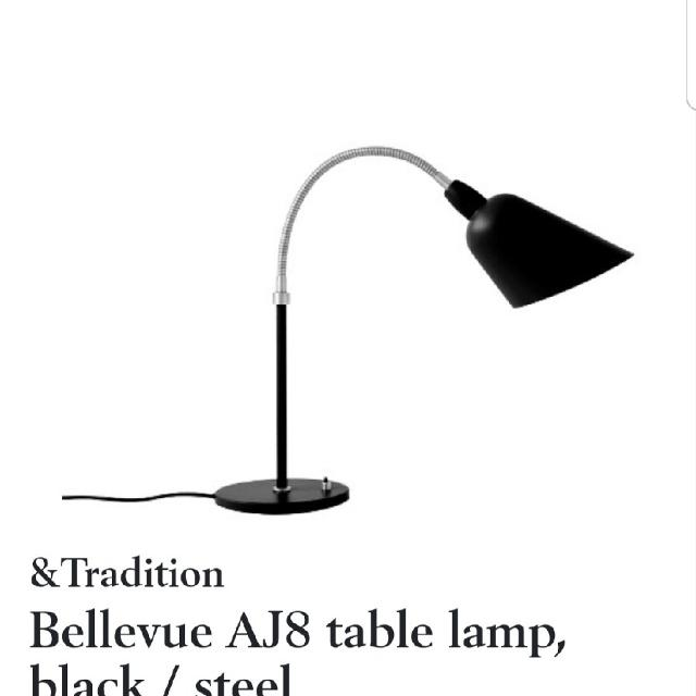 Arne Jacobsen Bellevue Table Lamp AJ8 | And Tradition
