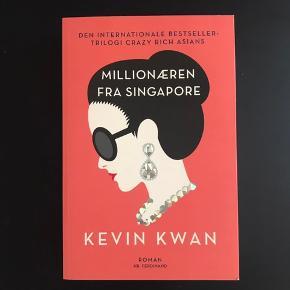 Millionæren fra Singapore af Kevin Kwan - paperback. Sendes kun mod betaling af fragt :-)