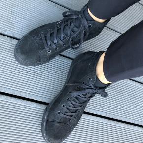 Brugt 2 gange   Støvle i læder