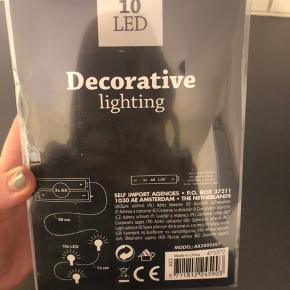 Lyskæde med 10 lys - aldrig brugt