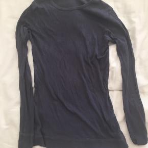 Mørkegrå/ støvet blå MarMar trøje til piger
