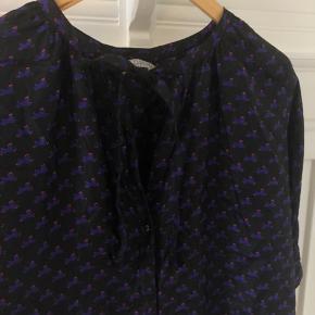 Silkeskjorte der er brugt én gang