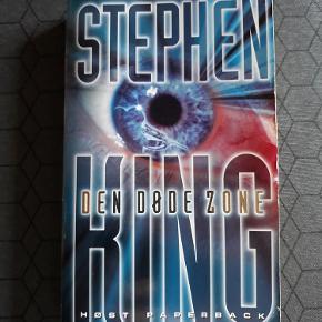 Brand: - Varetype: Stephen King - Den Døde Zone Størrelse: - Farve: -  Stephen King's bestseller bog - Den Døde Zone. Næsten som ny.