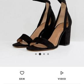 Asos tie around heels, kun prøvet på aldrig brugt