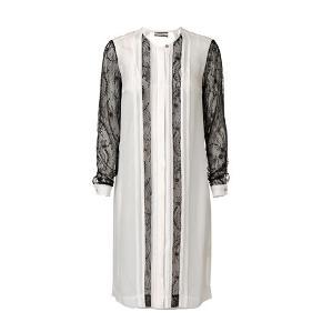 Smuk Malene Birger kjole sælges, hvis der hører bælte eller underkjole med, har jeg ikke dette. Det er str 34 men den passer også str 36.