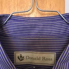 Trøje til Golf Hvid/lilla  Mærket er Donald Ross