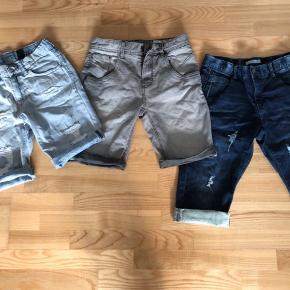 3 par shorts. Blandet mærker